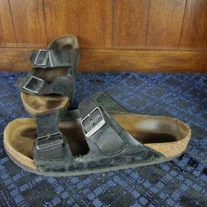 Birkenstock  Sandals  Sz 41 265 black Slice